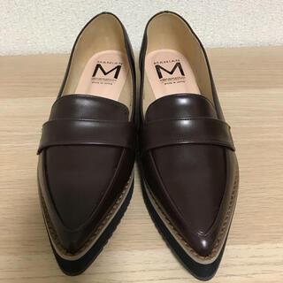 マミアン(MAMIAN)のローファー ダークブラウン MAMIAN(ローファー/革靴)