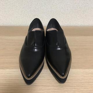 マミアン(MAMIAN)のローファー 黒 MAMIAN(ローファー/革靴)