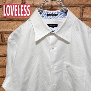 ラブレス(LOVELESS)のLOVELESS ラブレス ホワイト ドレスシャツ(シャツ)