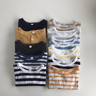 MUJI (無印良品) - 無印良品 キッズ オーガニックコットン 半袖Tシャツ 110  11枚セット