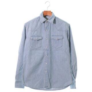 MAISON KITSUNE カジュアルシャツ メンズ(シャツ)