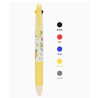 ムジ 4色ボールペン(キャラクターグッズ)