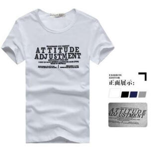 人気 半袖 Tシャツ メンズ レディース シンプルデザイン L 白(Tシャツ/カットソー(半袖/袖なし))