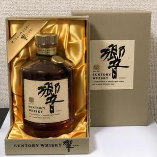 サントリー - サントリー ウイスキー 響 金キャップ  裏ゴールドラベル 750ml 箱付き