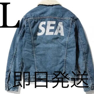 WIND AND SEA Denim Boa G JKT L 3