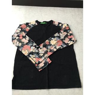 柳-ryu-  ロンT  和柄カットソー Lサイズ(Tシャツ/カットソー(七分/長袖))