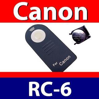 ★ Canon RC-6 ★リモコン★ キャノン★ 電池サービス中◎(その他)