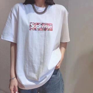 ★新品未使用★ シュプリーム supreme Tシャツ カットソー 男女兼用