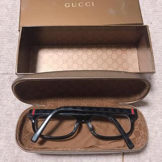 Gucci - GUCCI 黒縁メガネ