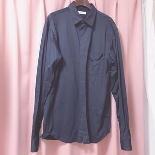 ビューティアンドユースユナイテッドアローズ(BEAUTY&YOUTH UNITED ARROWS)のシャツ ネイビー 紺 Lサイズ(シャツ)