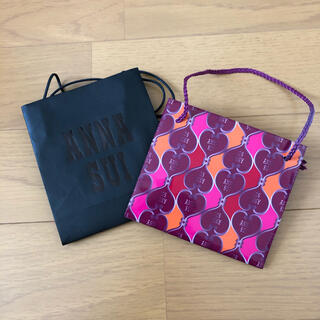 ANNA SUI - ANNA SUI  ショッパー  2枚セット