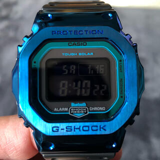 G-SHOCK - CASIO G-SHOCK GW-B5600-2JF ブルメタベゼルカスタム