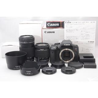 ニコン(Nikon)のCanon EOS kiss X8i 18-55・55-250ダブルレンズキット(デジタル一眼)