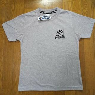 アウトドアプロダクツ(OUTDOOR PRODUCTS)の140cm タグ付新品  アウトドアプロダクツ 半袖Tシャツ  グレー(Tシャツ/カットソー)