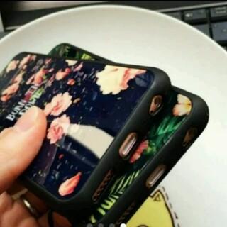 送料無料!iPhoneケース!ボタニカ 緑 プレセント 人気 可愛い(iPhoneケース)