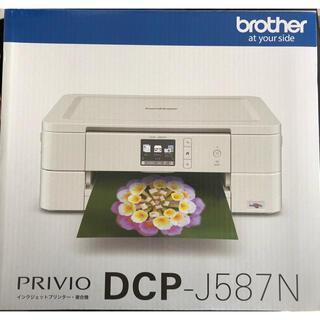 ブラザー(brother)のbrother ブラザー PRIVIO プリビオ DCP-J587N プリンター(PC周辺機器)