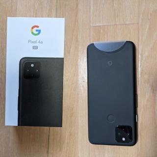 グーグルピクセル(Google Pixel)のPixel4a 5G SIMフリー 未使用(スマートフォン本体)