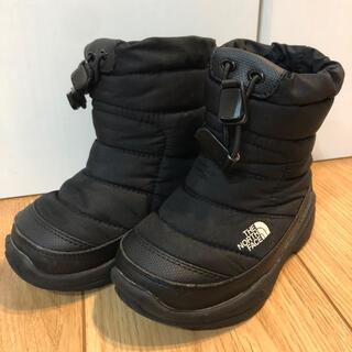 ザノースフェイス(THE NORTH FACE)のノースフェイス ヌプシ スノーブーツ ブラック 14cm(ブーツ)