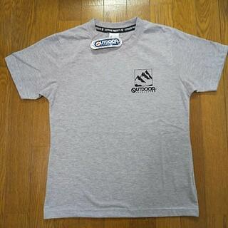 アウトドアプロダクツ(OUTDOOR PRODUCTS)の150cm  タグ付き新品  アウトドアプロダクツ  半袖Tシャツ  グレー(Tシャツ/カットソー)