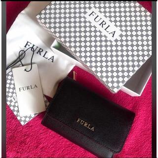 Furla - 新品 FURLA(フルラ) ブラック 黒 折り財布