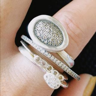 アッシュペーフランス(H.P.FRANCE)のRosa Mariaダイアモンドリング(リング(指輪))