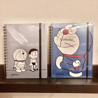 2冊セット ドラえもん ロルバーン 藤子不二雄ミュージアム 限定 ノート(キャラクターグッズ)