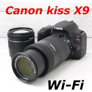 キヤノン(Canon)の❤️Wi-Fi&自撮り❤️ダブルレンズ❤️Canon kiss X9(デジタル一眼)