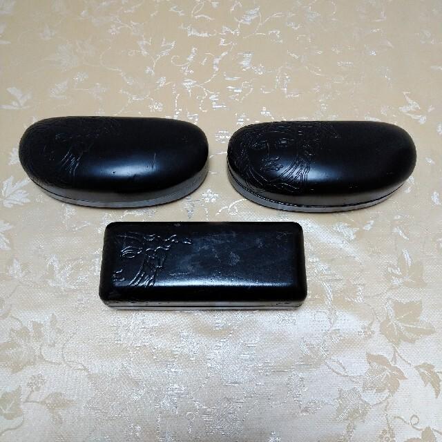 VERSACE(ヴェルサーチ)の❀ヴェルサーチ❀サングラスケース3点、セット‼️ レディースのファッション小物(サングラス/メガネ)の商品写真