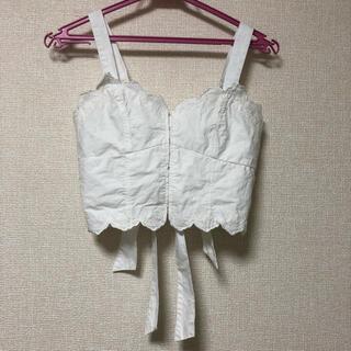 dazzlin - ダブルバックリボン♡刺繍ビスチェ