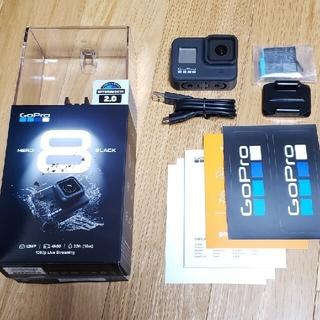 ゴープロ(GoPro)のGoPro HERO 8 本体 美品 付属品未使用(ビデオカメラ)