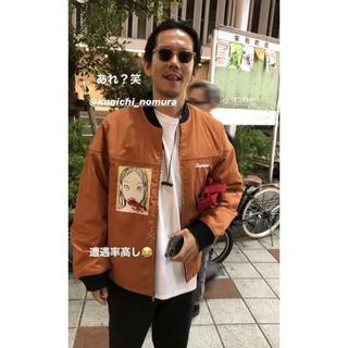 シュプリーム(Supreme)の[美品] Supreme 19AW Mug Shot Crew Jacket(ナイロンジャケット)