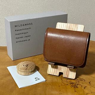 ワイルドスワンズ パーム フルグレインブライドル ダークステイン 財布