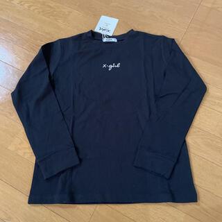 エックスガールステージス(X-girl Stages)のエックスガール 140 ロンT(Tシャツ/カットソー)