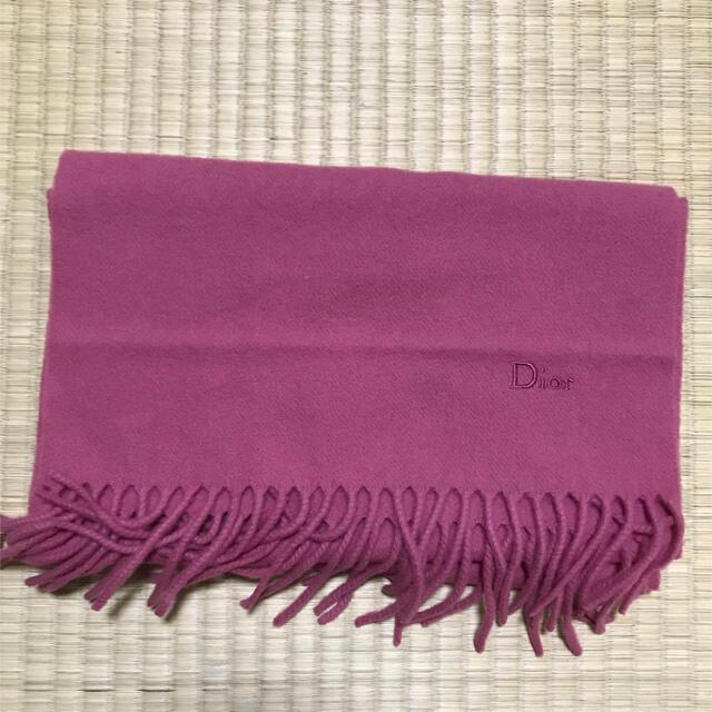 Dior(ディオール)の【1/20限定価格】DIOR ディオール マフラー  レディースのファッション小物(マフラー/ショール)の商品写真