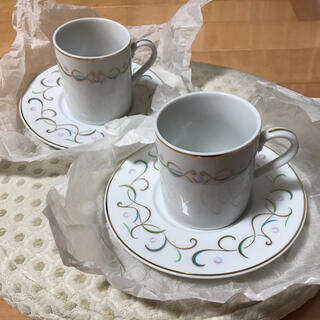ミキモト(MIKIMOTO)のMIKIMOTO ミキモト ペアカップ&ソーサー 新品(食器)