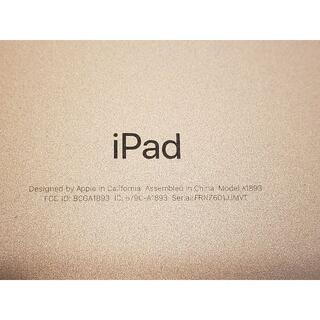 アップル(Apple)のiPad 第6世代 A1893 Wi-Fiモデル 128GB ゴールド(タブレット)