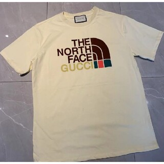 THE NORTH FACE - GUCCI ×THE  NORTH  FACE  Tシャツ