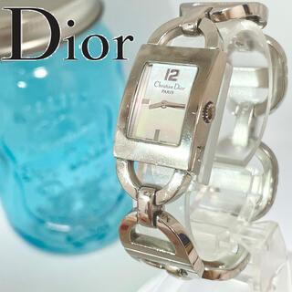 Christian Dior - 156 クリスチャンディオール時計 レディース腕時計 新品電池 ホワイトシェル