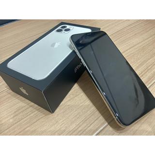 アップル(Apple)のiPhone 11 Pro 64GB シルバー(スマートフォン本体)