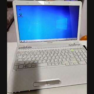 トウシバ(東芝)のノートパソコン TOSHIBA dynabook T451/34EW(ノートPC)