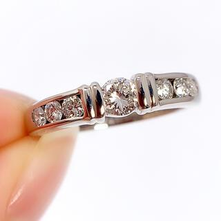 PT900 ダイヤモンド 0.50 リング 指輪 プラチナ