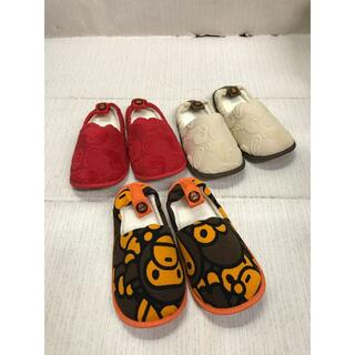 A BATHING APE - A BATHING APE KIDS ルームシューズ 約15~16㎝
