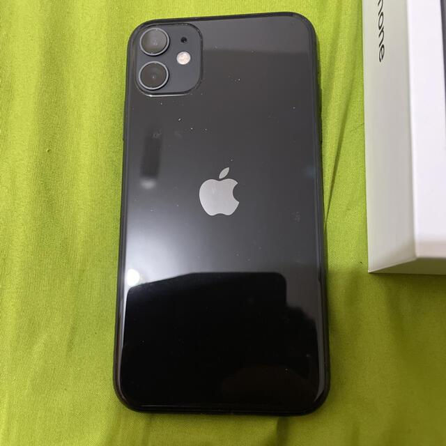 Apple(アップル)のiPhone11 64ギガ SIMフリー  スマホ/家電/カメラのスマートフォン/携帯電話(スマートフォン本体)の商品写真