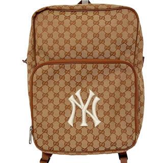 Gucci - GUCCI グッチ ニューヨークヤンキース コラボ バックパック 536724