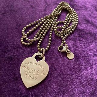 ティファニー(Tiffany & Co.)のリターントゥティファニー ボールチェーン ネックレス(ネックレス)