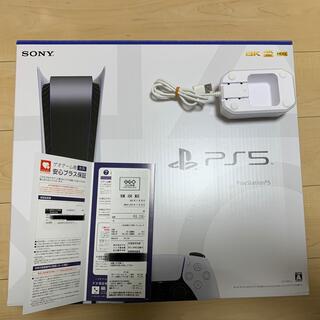 PS5本体とコントローラー充電器セット(家庭用ゲーム機本体)