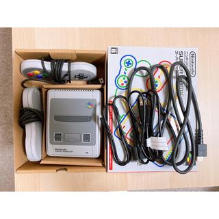 Nintendo ゲーム機本体 ニンテンドークラシックミニ スーパーファミコン(家庭用ゲーム機本体)
