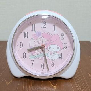 マイメロディ 目覚まし時計(キャラクターグッズ)