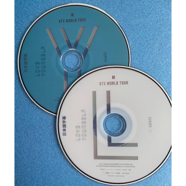 防弾少年団(BTS)(ボウダンショウネンダン)のBTS Love yourself ロンドン 2枚組 エンタメ/ホビーのDVD/ブルーレイ(ミュージック)の商品写真