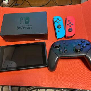 ニンテンドースイッチ(Nintendo Switch)の中古 ニンテンドーSwitch本体 500GBメモリカード入り(家庭用ゲーム機本体)